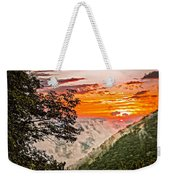 Above The Clouds - Paint Weekender Tote Bag