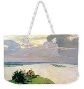 Above The Eternal Peace Weekender Tote Bag by Isaak Ilyich Levitan