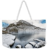 Above The Ice Weekender Tote Bag