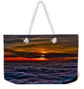 Above The Marine Layer Weekender Tote Bag