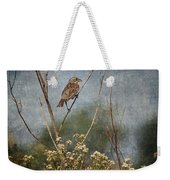 Above The Prairie Weekender Tote Bag
