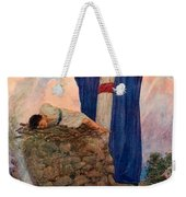 Abraham And Isaac On Mount Moriah Weekender Tote Bag