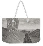Abraham And The Three Angels Weekender Tote Bag