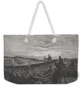 Abraham Journeying Into The Land Of Canaan Weekender Tote Bag
