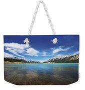 Abraham Lake Alberta Canada Weekender Tote Bag