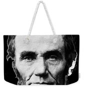 Abraham Lincoln 1 Alexander Gardner Photo Washington D.c. C. 1864 Weekender Tote Bag