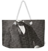 Abraham Lincoln, 1809 – 1865.  16th President Of The United States Of America.  From Abraham Weekender Tote Bag