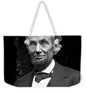 Abraham Lincoln 2  Alexander Gardner Photo Washington Dc  February  1865 Weekender Tote Bag