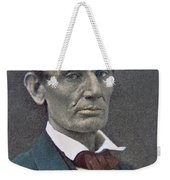 Abraham Lincoln Weekender Tote Bag by American Photographer