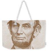 Abraham Lincoln Weekender Tote Bag by American School