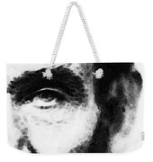 Abraham Lincoln - An American President Weekender Tote Bag by Sharon Cummings