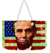 Abraham Lincoln Gettysburg Address All Men Are Created Equal 20140211p68 Weekender Tote Bag