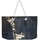 Abraham Lincoln Mount Rushmore National Monument Weekender Tote Bag