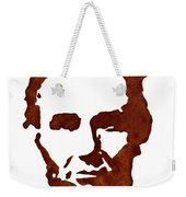 Abraham Lincoln Original Coffee Painting Weekender Tote Bag