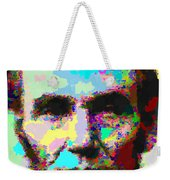 Abraham Lincoln Portrait - Abstract Weekender Tote Bag