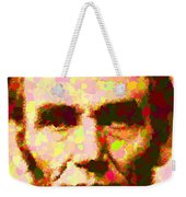 Abraham Lincoln Portrait Weekender Tote Bag