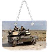 Abrams M1a1 Main Battle Tank Weekender Tote Bag
