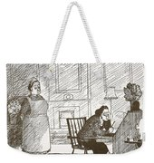 Absence Of Ideas For Meals Weekender Tote Bag