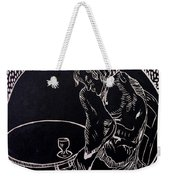 Absinthe Drinker After Picasso Weekender Tote Bag