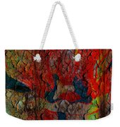 Abstract - Emotion - Annoyance Weekender Tote Bag