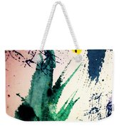 Abstract - Splashes Of Color Weekender Tote Bag