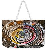Abstract - Vehicle Recycling Weekender Tote Bag