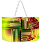 Abstract 0411 Weekender Tote Bag