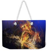 Abstract 042113a Weekender Tote Bag