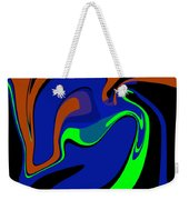 Abstract 124 Weekender Tote Bag