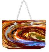 Abstract #140814 - Inside The Pipeline Weekender Tote Bag