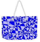 Abstract 151 Weekender Tote Bag by J D Owen