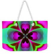 Abstract 169 Weekender Tote Bag