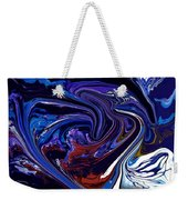 Abstract 170 Weekender Tote Bag by J D Owen