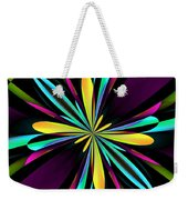 Abstract 222 Weekender Tote Bag