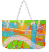 Abstract  23614   Diptych  I  Weekender Tote Bag