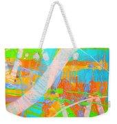 Abstract 23614  Diptych  II Weekender Tote Bag