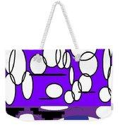 Abstract #24 Weekender Tote Bag