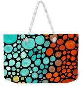 Mosaic Art - Abstract 3 - By Sharon Cummings Weekender Tote Bag