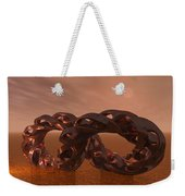 Abstract 331 A 3d Copper Sculpture Weekender Tote Bag