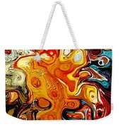 Abstract 351-07-13 Marucii Weekender Tote Bag by Marek Lutek