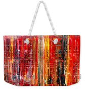 Abstract 7 Weekender Tote Bag