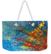 Abstract - Acrylic - Just Another Monday Weekender Tote Bag by Mike Savad