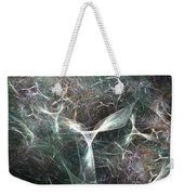 Abstract Angels White Portrait Weekender Tote Bag