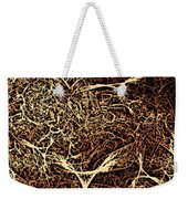 Abstract Angels Woodcut Weekender Tote Bag