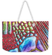 Abstract Animal Print Weekender Tote Bag