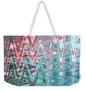 Abstract Approach Iv Weekender Tote Bag