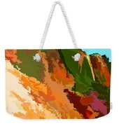 Abstract Arizona Mountains In The Afternoon  Weekender Tote Bag