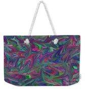Juncture - Abstract Art Weekender Tote Bag