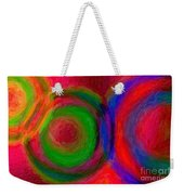 Separate Yet Together - Abstract Art  Weekender Tote Bag