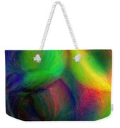 Journey - Square Abstract Art  Weekender Tote Bag